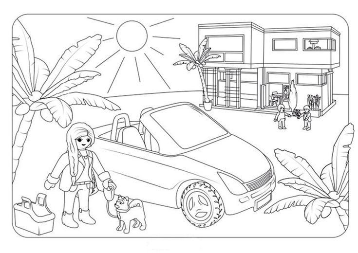 playmobil zum ausmalen 3  playmobil ausmalbilder