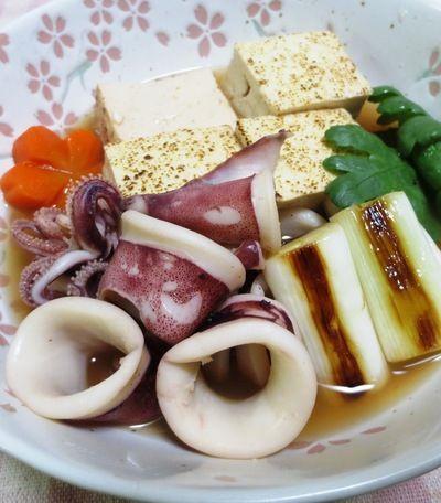 ヤリイカと焼き豆腐の煮物 by syu♪さん | レシピブログ - 料理ブログ ...