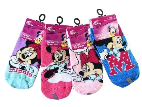 Disney Minnie Mouse 3pc Girls Ankle Socks (Shoe « Clothing Impulse