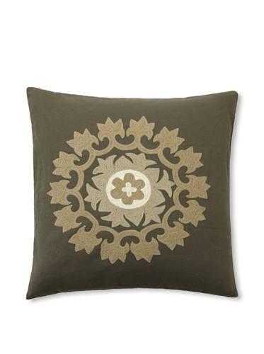 79% OFF Design Accents Embroidered Motif (Olive)