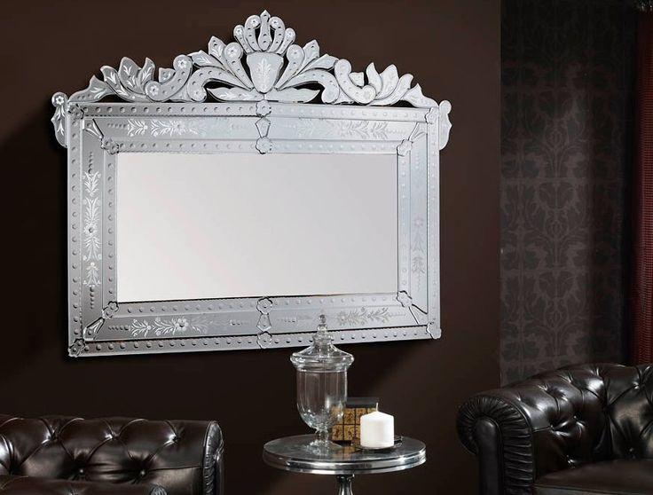 43 best images about espejos decorativos on pinterest for Espejos con marco color plata