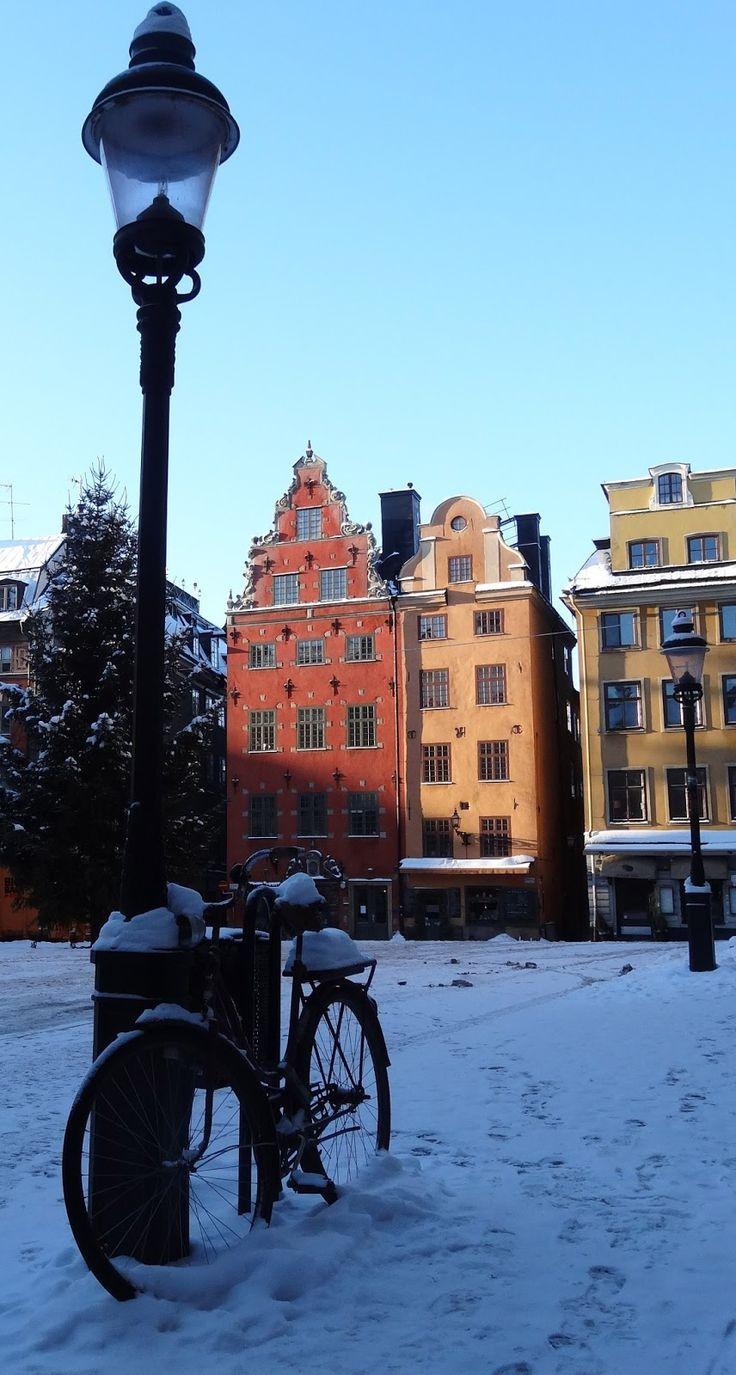 Gamla Stan, Stockholm, Sweden in winter