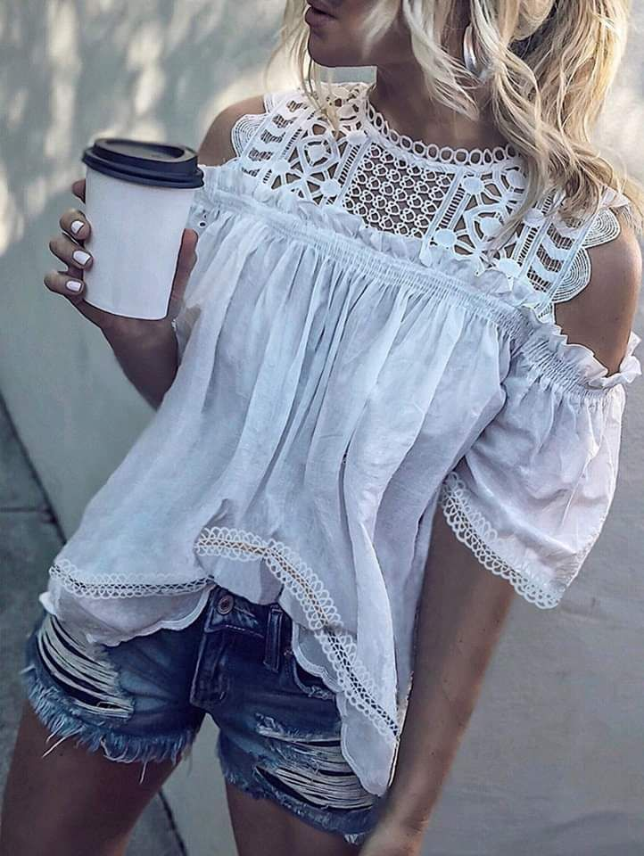 Emilie™ the Gorgeous Off-Shoulder Top