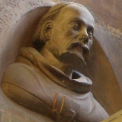 Peter Parler (Petr Parléř, c.1330) - architect of German origin, living in Prague, best known for building Saint Vitus Cathedral and Charles Bridge in Prague.  #Czechia #Germany