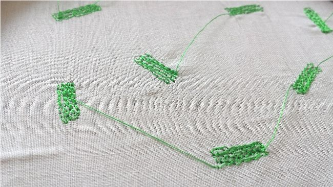 Freehand machine embroidery workshops in Cornwall hosted by Rebecca Williams from Hilda Living.