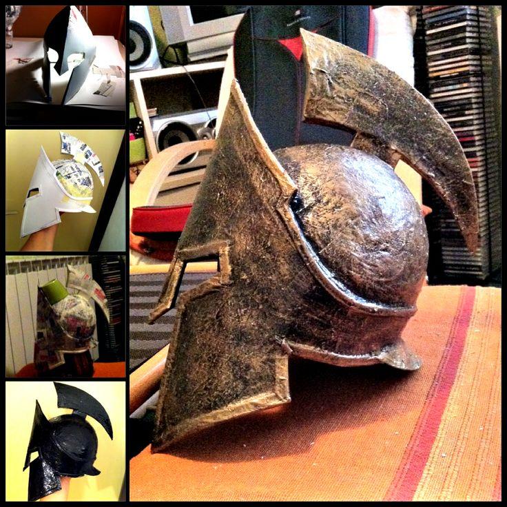 spartan helmet, diy, creative, 300
