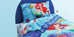 The Little Mermaid® Magical Mermaid Collection Sheet Set from Sears Catalogue  $39.99