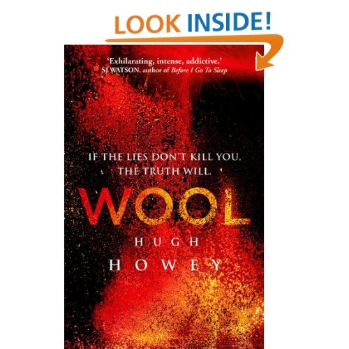 Wool Omnibus Edition (Wool 1 - 5) (Silo Saga) by Hugh Howey. Addictive post-apocalyptic scifi series. People live in energy-independent underground silos and are prohibited from talking about the world outside the silo. Couldn't stop reading.
