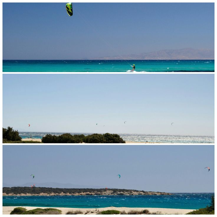 All in one kite spot, Glyfada beach, Naxos kitesurf Club. Always windy! Accommodation, Tavern, kite courses, we have you covered!