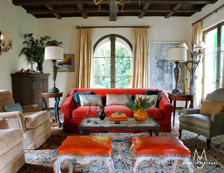 Living Room Madeline Stuart A Good Designer Has Sense Of Balance And Color Spanish
