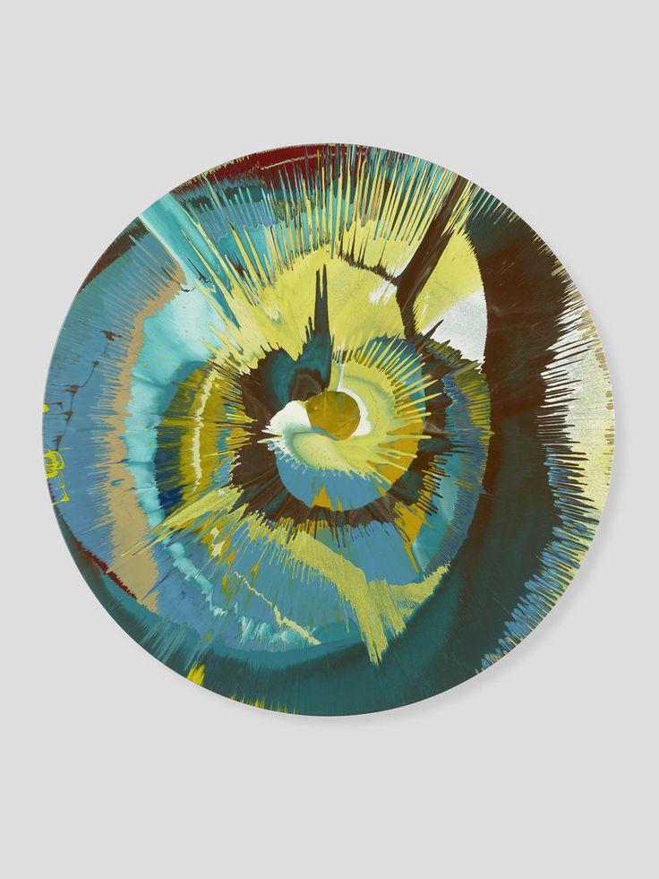 Damien Hurst Spin Painting