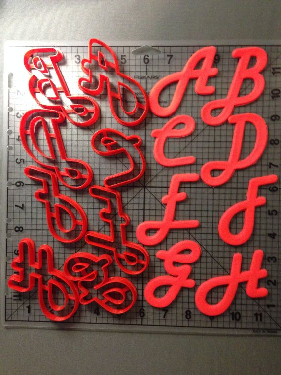 harlow solid uppercase alphabet cookie cutters by jbcookiecutters 250