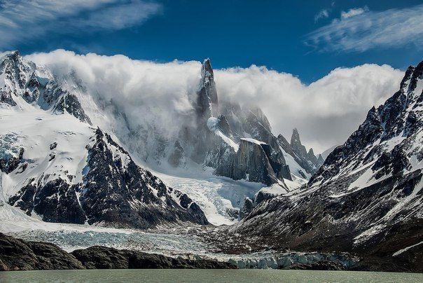 Гора в провинции Санта-Крус, Аргентина