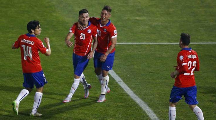 Mexico vs Chile Copa America quarterfinal set