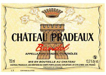 Château Pradeaux  / Bandol