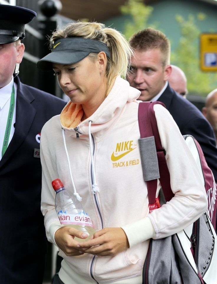 Maria Sharapova Photos: Maria Sharapova at the 2014 Wimbledon Championships. Maria Sharapova is pictured arriving at London's All England Lawn Tennis and Croquet Club for day ___ of the 2014 Wimbledon Championships.