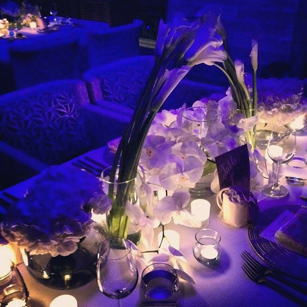 Glowing tablescapes light the night at @Four Seasons Resort Koh Samui, Thailand.