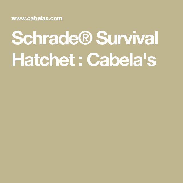 Schrade® Survival Hatchet : Cabela's