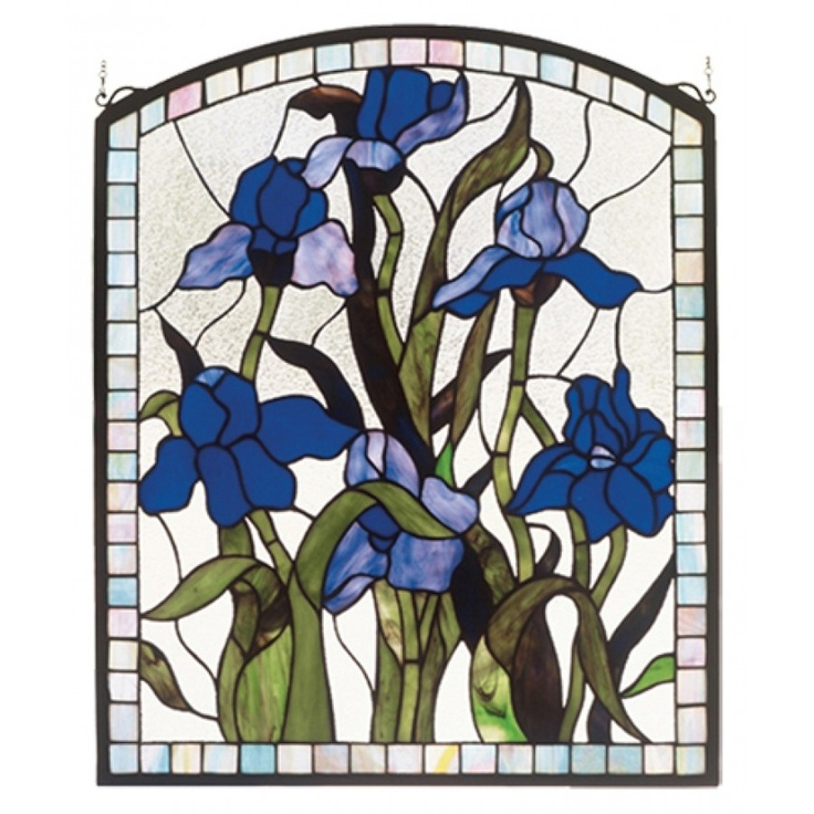 536 Best Stained Glass Irises Images On Pinterest Stained Glass
