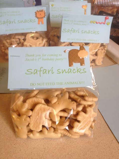 Jungle Safari Themed Party favors