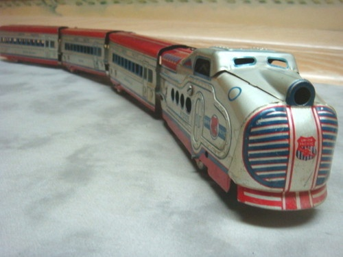 Old Toy Trains : Best images about vintage toy trains on pinterest nyc