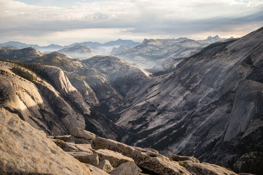"""""""The mountains are calling, and I must go."""" Happy birthday to the quotable naturalist John Muir, founder of the Sierra Club.  (John Muir Trail, Yosemite National Park)"""