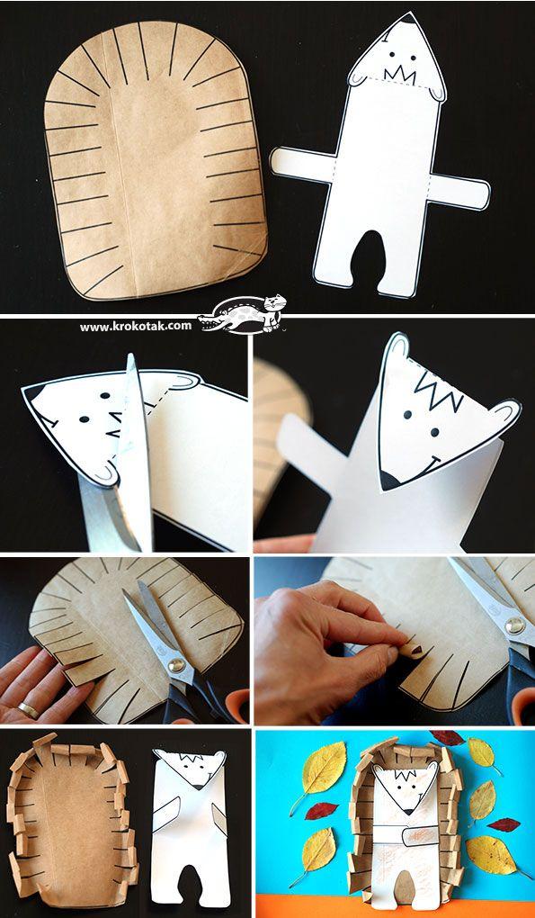 Hedgehog- paper model