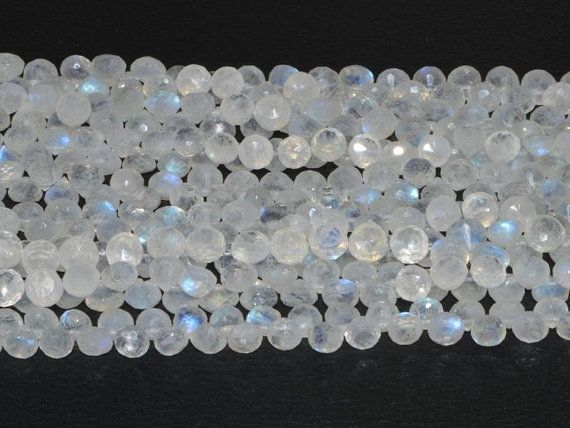 White rainbow onion faceted beads strands (Code-22\51)  http://etsy.me/1uhV0G4  http://etsy.me/1mFe0ZJ #whiterainbow #onionfaceted