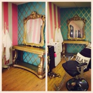 Pink And White Striped Teal And Gold Wallpaper Gold