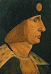 Ludvig XII av Frankrike på målning från 1500-talet