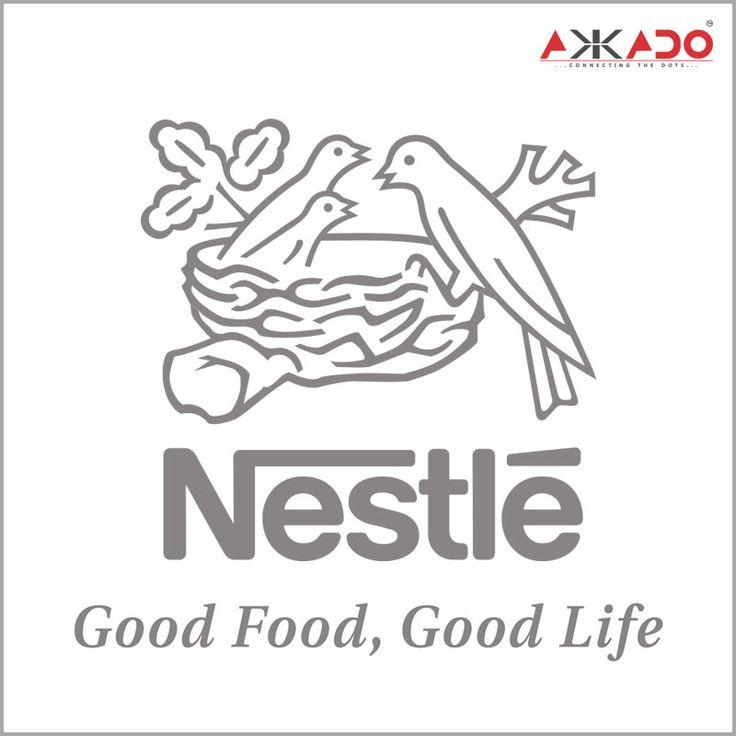 Nestle's logo represents the modern family. Click: http://on.fb.me/1mXrZQy #Akkado #ConnectingtheDots #Nestle #LogoStory