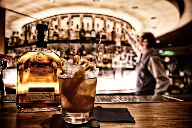Photograph Attila The Hungarian (barman) and an Old Fashioned cocktail made from Woodford Reserve whiskey @ Hil by Jack Oughton on 500px
