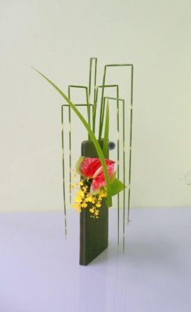 Ikebana (flower arrangement)