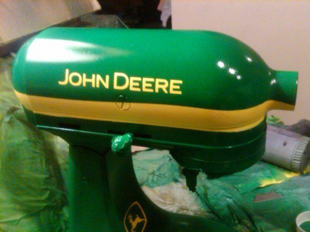 John Deere Kitchen Mixer In Progress