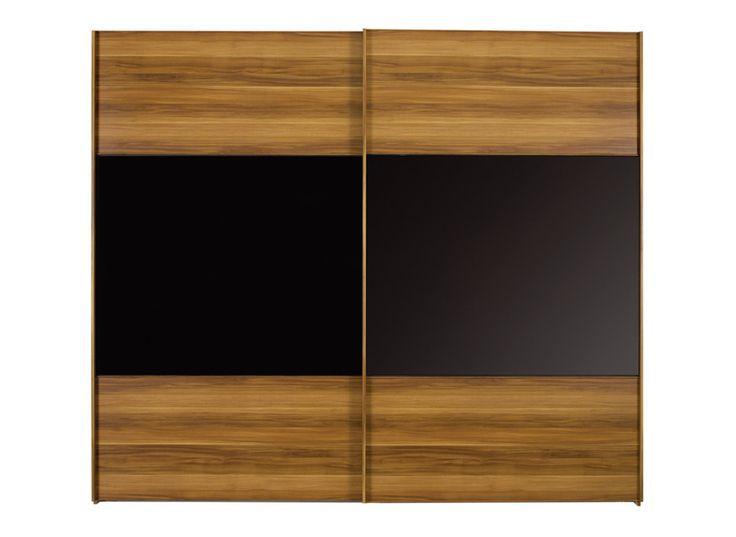 Berkeley Black Sliding Wardrobe - Medium £679