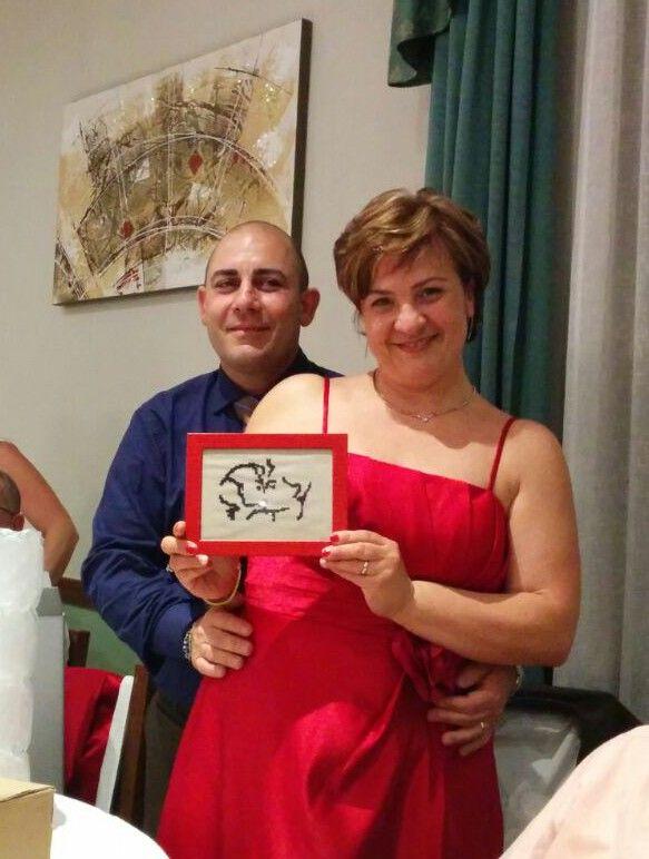 Il BACIO regalato all'anniversario di nozze