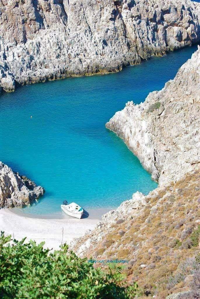 Κρήτη παραλία Σειταν λιμάνια