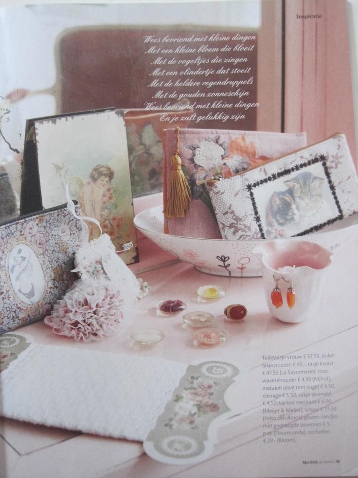 Pink Poetry, Magazine ariadne at Home  Foto Alan Jensen, Styling Linda van der Ham