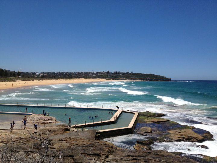 South Curl Curl Beach in Curl Curl, NSW