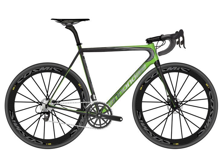 2017 Cannondale Supersix EVO Hi-Mod Disc Team Di2 Road Bike