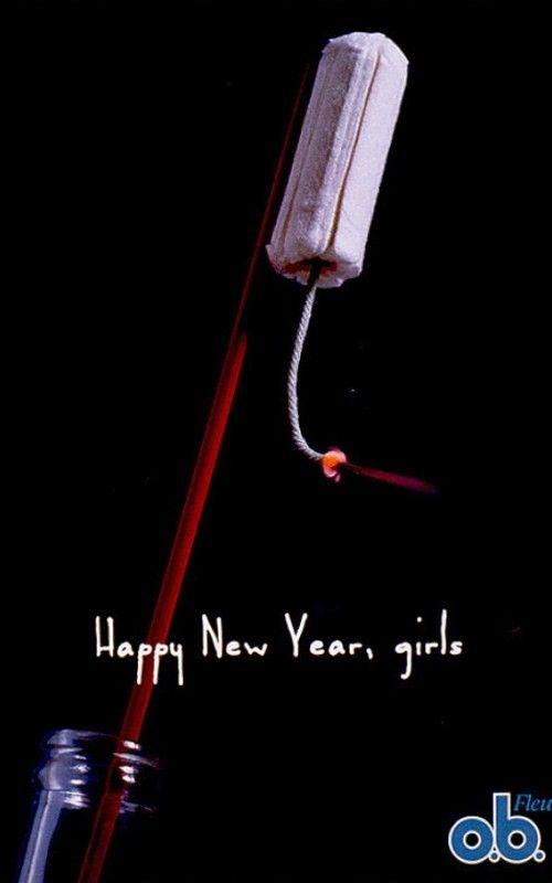 Ob happy new year creative ads