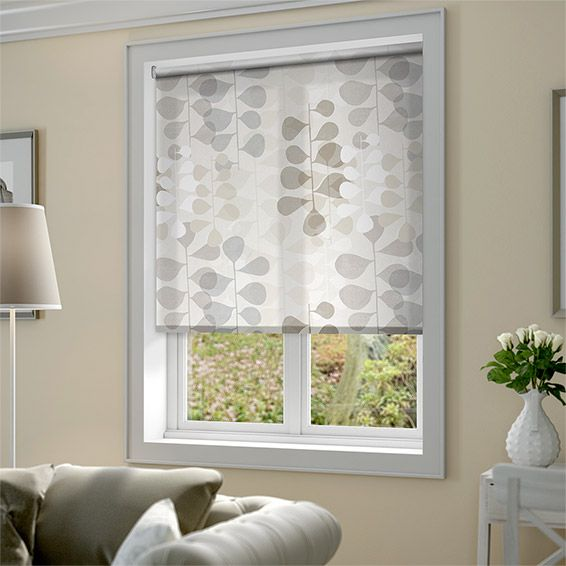 Blooming Meadow Neutral Roller Blind from Blinds 2go