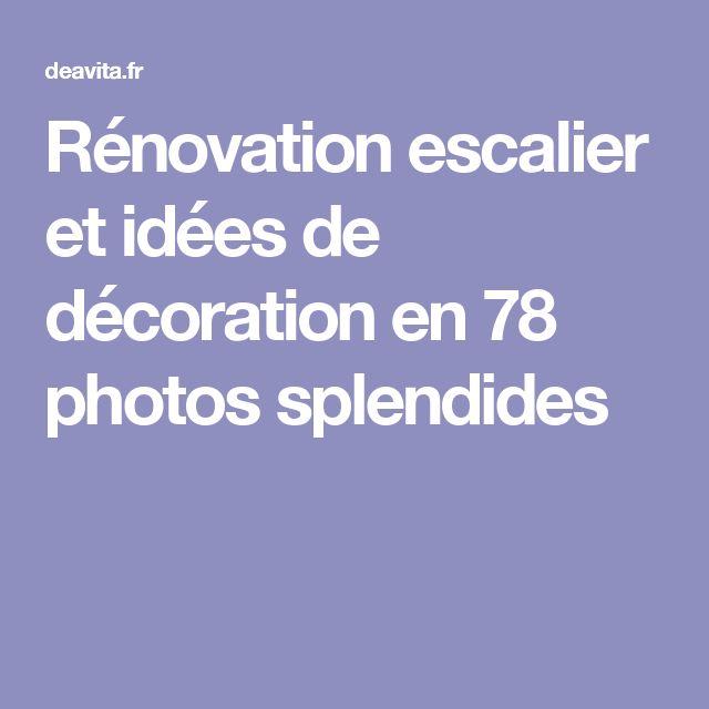 Plus De 25 Id Es G Niales De La Cat Gorie Escalier R Novation Sur Pinterest Escalier Relooking