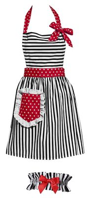Every great cook needs an adorable apron!! This is the one I need! It matches my KitchenAid Stand Mixer :)