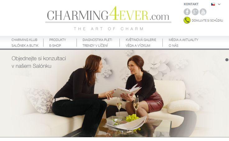 Charming4Ever.com -  Nejen prostřednictvím naší výjimečné péče o pleť, ale i díky poradenství o správném životním stylu bychom rádi napomohli každé ženě, aby si  udržela své kouzlo a šarm navždy.  Ikonou našich představ o půvabné, elegantní ženě, která rozpoznala umění šarmu a uchovala si jej do poslední etapy svého života byla Audrey Hepburn. http://charming4ever.com/o-nas