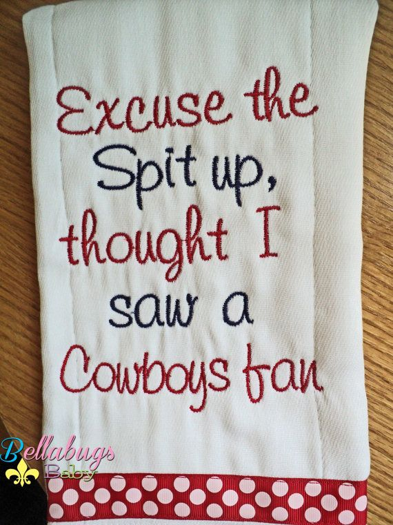 Excuse the Spit Up Houston Texans or your by BellabugsBaby