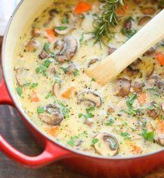 Soupe+de+champignons                                                                                                                                                      Plus
