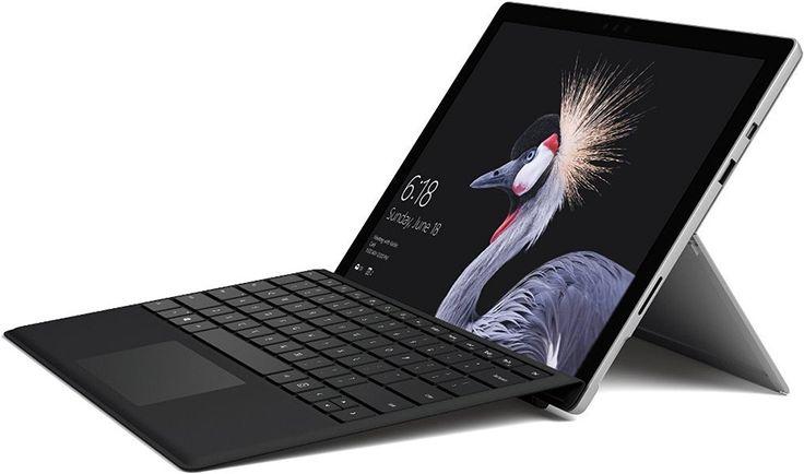 Microsoft Surface Pro 31,24 cm (12,3 Zoll) Notebook (Intel Core i5 der 7. Gen., 8 GB RAM, 256 GB SSD, Windows 10 pro) [neues Modell 2017]  Leistungsstarke Intel Core i5 Prozessoren der 7. Generation 31,24 cm (12,3 Zoll) PixelSense Display; Auflösung: 2736 x 1824 pixel (267ppi); Seitenverhältnis: 3:2 Betriebssystem: Windows 10 Pro Bis zu 13,5 Stunden Akkulaufzeit Neues Scharnier mit bis zu 165 Grad Neigung ermöglicht Studio Modus   #MicrosoftSurfacePro #Tablet #Notebook #bestdeal #sale