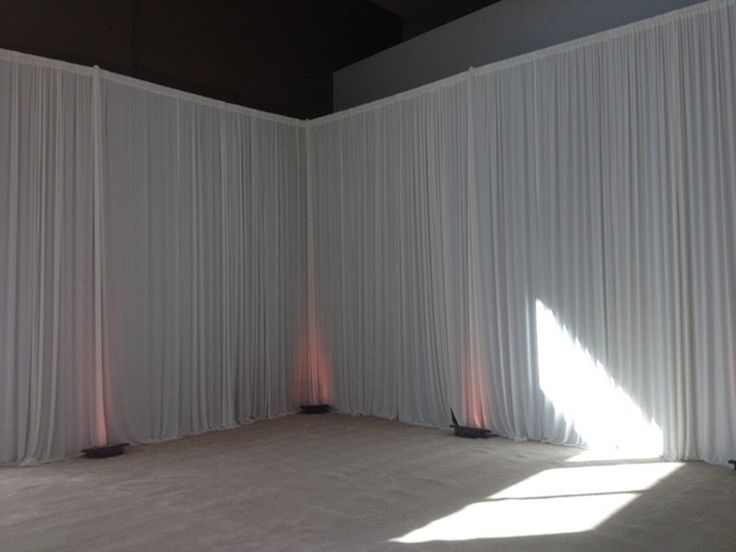 3m X 6m White Curtain Lining Backdrop Party Wedding Backdrop Drapes Curtain    Http:/