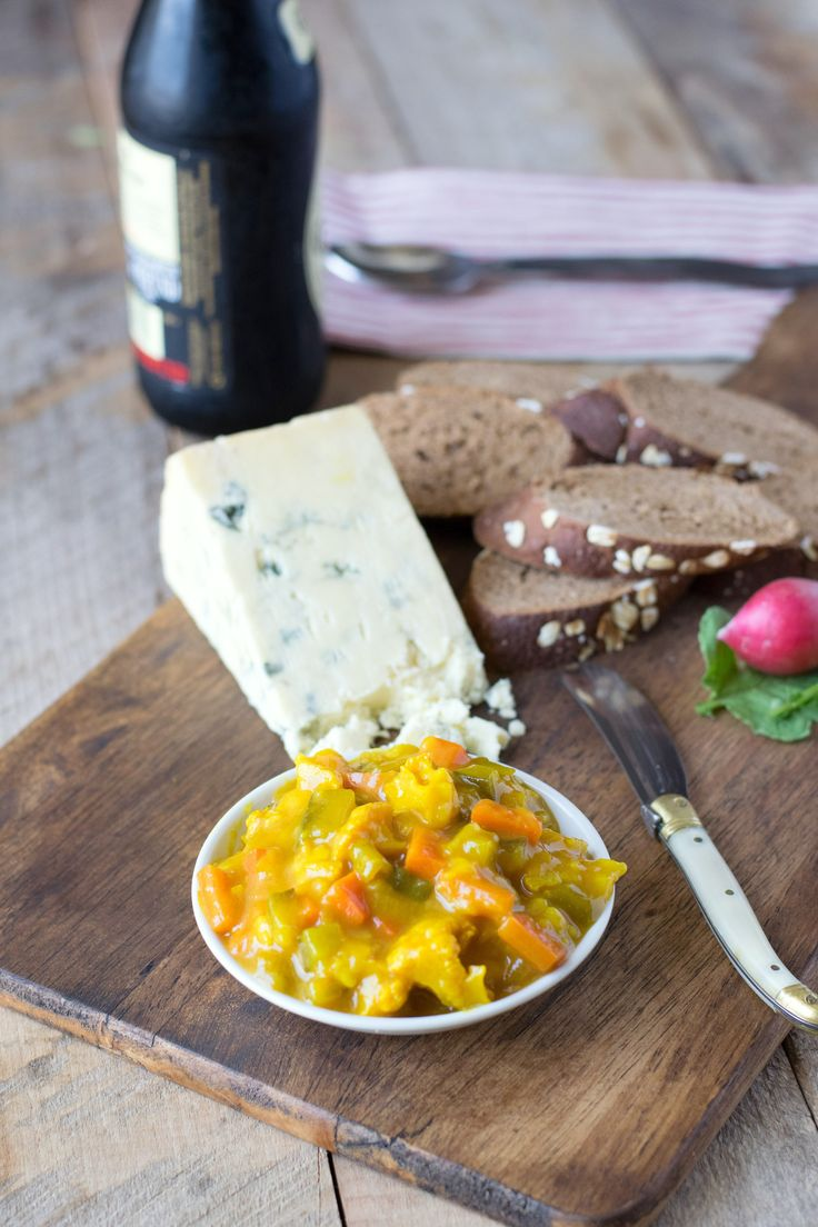 This Piccalilli recipe is a mixed vegetable relish that is has a very distinct look due to its slightly spicy, tangy mustard sauce. It's a British staple!